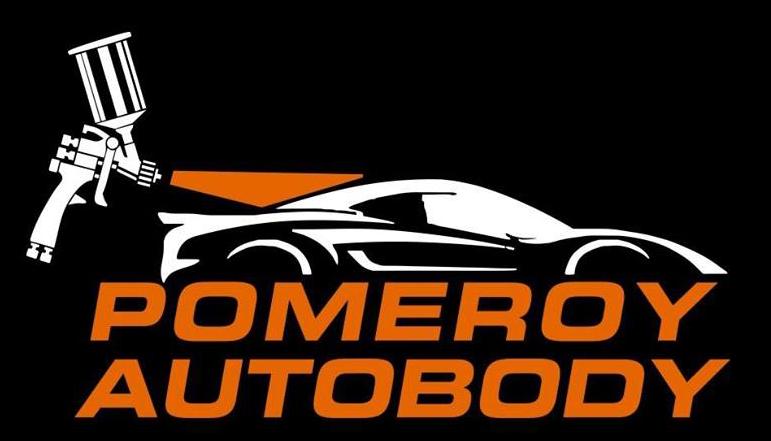 pomeroy autobody logo